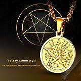 FaithHeart Pentacle of The Sun Talisman Key of