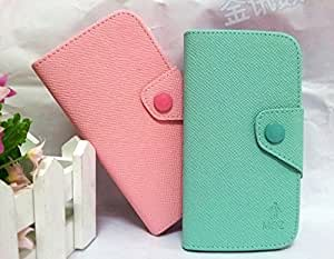 ModernGut Retail For Samsung Wave M S7250 Leather Case, Credit Card Flip Leather Pouch Case Cover for Samsung Wave M S7250,9color