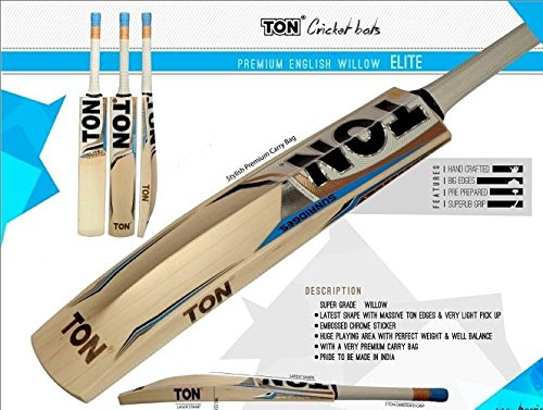 SS Ton Elite Cricket Bat New 2016 English Willow by SS