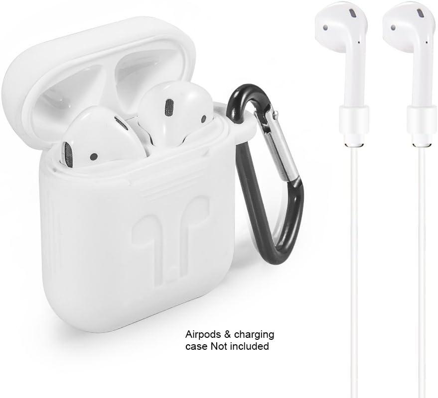 antip/érdida para Apple AirPods Funda de silicona para Apple AirPods 1/&2
