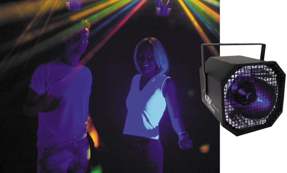 American Dj Uv Canon Blacklight Spotlight (Renewed)