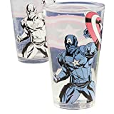Captain America Glass Captain America Stance Official Marvel Colour Change