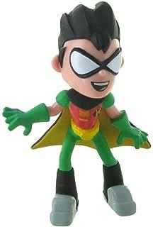 WXxiaowu Dibujos Animados Teen Titans Go Figuras de acción Robin Cyborg Beast Child Starfire Crow Silkie PVC Coleccionables Juguetes para niños Regalos 7pcs / Set: Amazon.es: Hogar