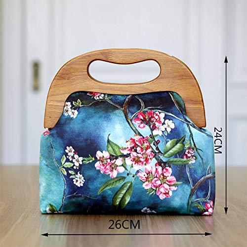 Diseño Teléfono Bordado Original Lzh Mensajero Para De Fiesta Bolso 24cm Bolsa Portátil 26 Mochila Mujer Encaje Del Móvil 5tqEtPOw