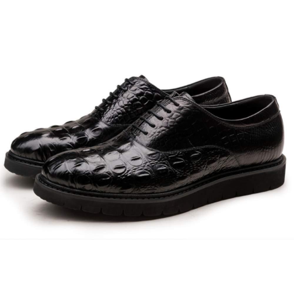 Herren Lederschuhe Layer Business Dress Leder Herrenschuhe First Layer Lederschuhe Leder Schuhes schwarz ad63c8