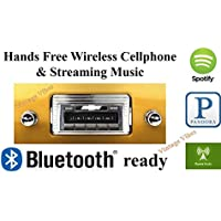 Bluetooth Enabled 1947-1953 Chevy Truck USA-630 II High Power 300 watt AM FM Car Stereo/Radio