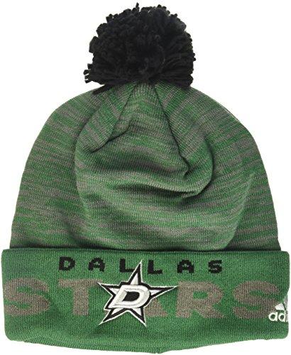d30d7064777 Dallas Stars Cuffed Knit Hats. adidas NHL Dallas Stars Adult Men ...