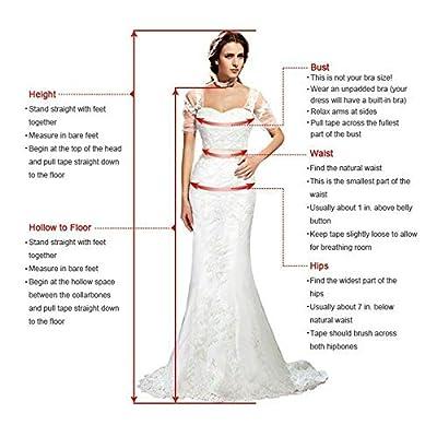 Meganbridal Women's Mermaid Lace Appliques Detachable Long Train Wedding Brides Dresses with Beaded Sash: Clothing