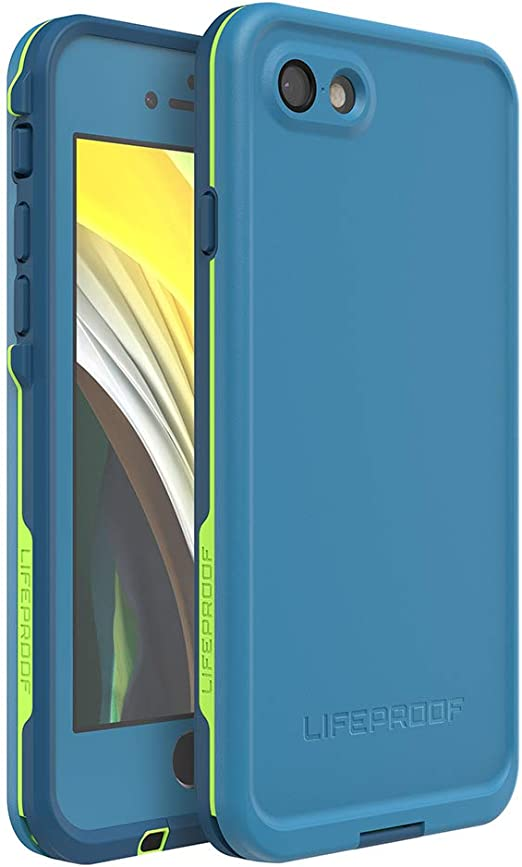 Lifeproof Fre Wasserdichte Schutzhülle Für Apple Iphone 8 Blau Elektronik