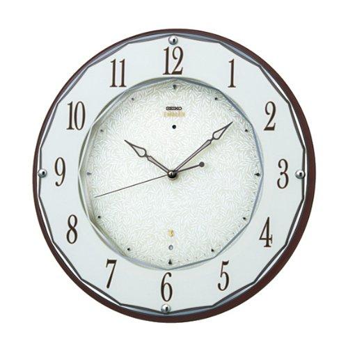セイコー クロック/SEIKO CLOCK EMBLEM 掛け時計 電波時計 HS524B B00D2YQEZQ