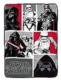 Star Wars Ep7 Rule Galaxy Fleece 62'' x 90'' Twin Blanket