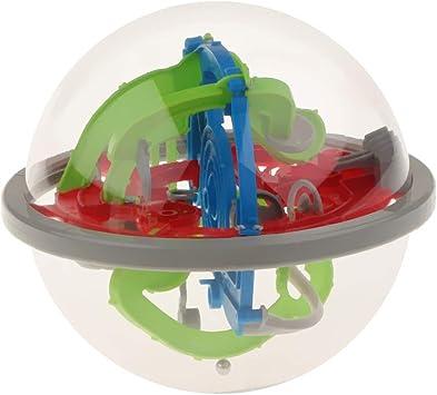 non-brand 100 Niveles 3D Juguete de Laberinto de Bolas Mágico Pelota Rodante Juego Educativo Temprano para Niños: Amazon.es: Juguetes y juegos