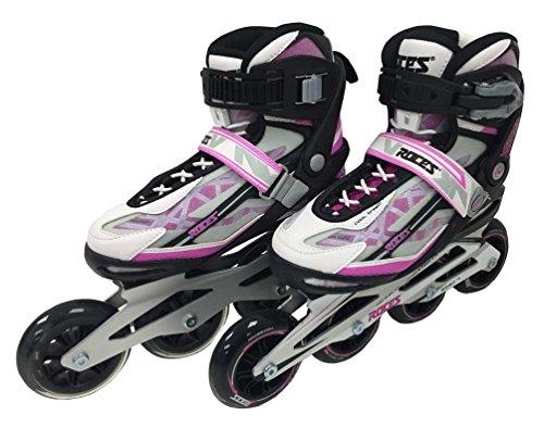 Roces Women's Inline Skate-Mod. Xenon LiteDesign Frame Black/Pink XENON-W-BP-6.5