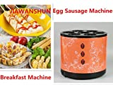 7 Holes Electric Automatic Breakfast Machine Egg Sausage Machine Grilled Egg Rolling Machine Egg Cup Machine 220V