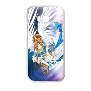HTC One M8 Cell Phone Case White ah my goddess S1I1OC