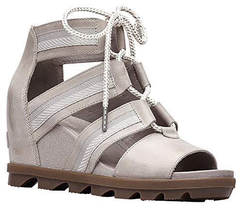 SOREL Women's Joanie II Lace Sandal Dove 10 M US