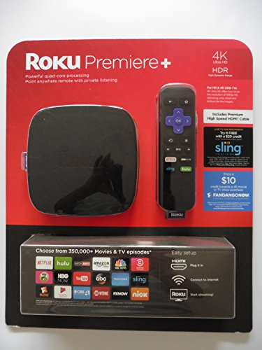 Roku Premiere Streaming Bundled FandangoNow product image