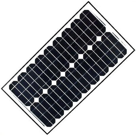 ALEKO 30W 30 Watt Monocrystalline Solar Panel