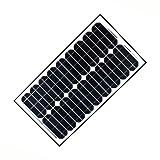 ALEKO SPU30W12V 30 Watt 12 Volt Monocrystalline Solar Panel for Gate Opener Pool Garden Driveway
