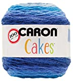 Caron Cakes Self-Striping Yarn ~ BLUEBERRY CHEESECAKE # 17013 ~ 7.1 oz. Cake by the Each