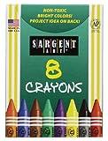 Sargent Art 22-0531 8-Crayons, Tuck Box