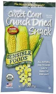 Sensible Foods Organic Crunch Dried Snacks Sweet Corn