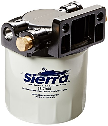 Sierra International 18-7983-1 Marine Fuel Water Separator Kit - Marine Fuel Water Separator