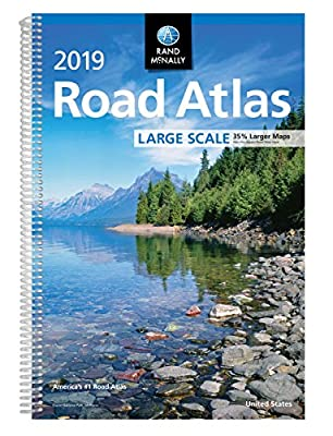 2019 Rand McNally Large Scale Road Atlas (Rand McNally Large Scale Road Atlas USA)