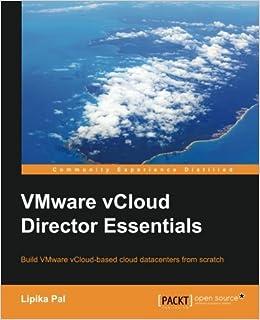 Book VMware vCloud Director Essentials