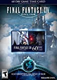 Video Games : Final Fantasy XIV Online: 60 Day Time Card [Online Game Code]
