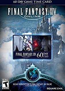 Final Fantasy XIV Online: 60 Day Time Card [Online Game Code] (B00O15486W) | Amazon Products