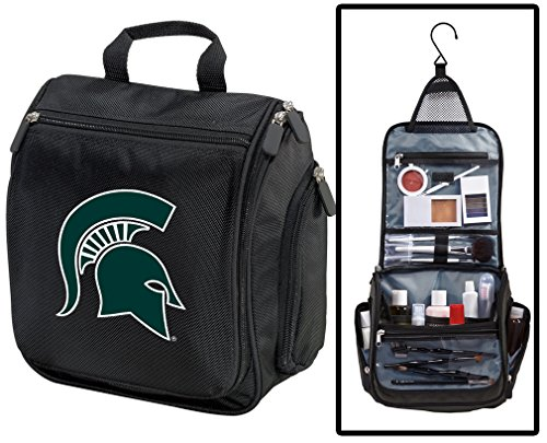 (Michigan State University Toiletry Bags Or Hanging Michigan State Shaving Kits)