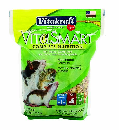 Vitakraft Vita Smart Rat/Mouse Food 2 lb - Rat Vita