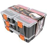 Tactix Hardware & Parts Organizers 4Piece Set | 320020