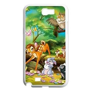 Bambi II Samsung Galaxy N2 7100 Cell Phone Case White Z1821243