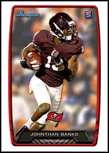 2013 Bowman #137 Johnthan Banks NM-MT RC Tampa Bay Buccaneers Official NFL Football Trading Card