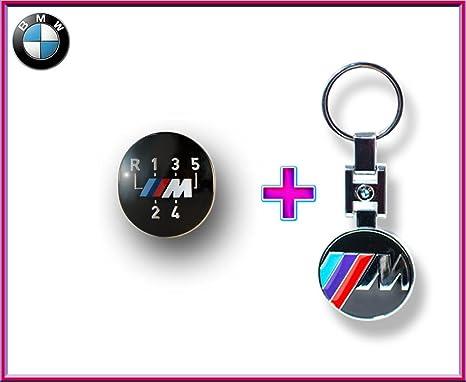 BMW M 5 marchas Pomo para Dresde 25111221613) + BMW///M Logo ...