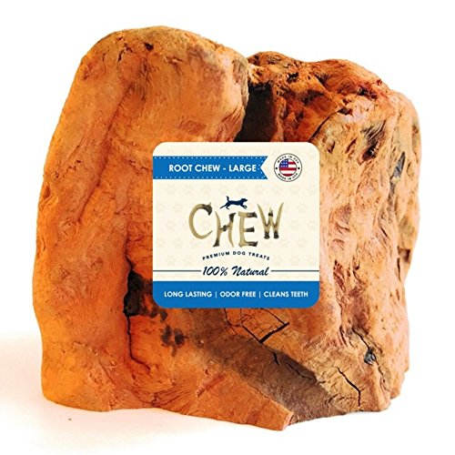 Root Chew - CHEW Premium Dog Treats - 100% Organic All Natural Dog Chew (Large)