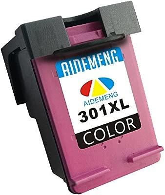AideMeng 301XL Cartuchos Compatible para HP 301XL 301 Juego de 2 ...