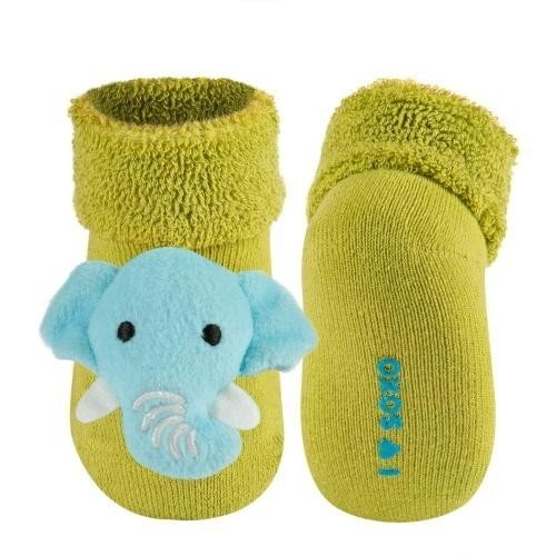 11 cm Affe Babysocken Kindersocken S/öckchen Rassels/öckchen Gr