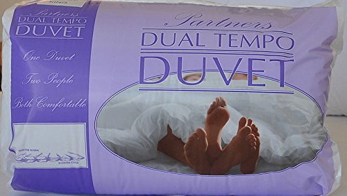 Euro Textiles Slight Second His & Hers Partners Duvet 7 TOG & 14 TOG Dual Tempo KING Original Sleep Co.