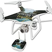 Skin For DJI Phantom 4 Quadcopter Drone – Difficult Roads | MightySkins Protective, Durable, and Unique Vinyl Decal wrap cover | Easy To Apply, Remove, and Change Styles | Made in the USA