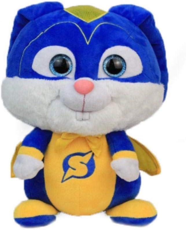 stogiit La Vida Secreta de Las Mascotas 2 Capitán Snowball Peluches 30Cm, Muñeca Relleno Conejo Cumpleaños para Niños
