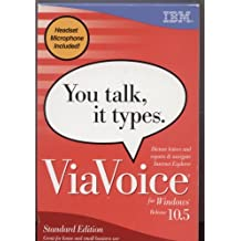 ViaVoice for Windows Standard Edition Release 10.5