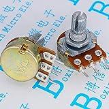 Gimax WH148 20K 203 Single Potentiometer B20K Three Feet 20K Short Handle 15MM Horizontal WH148
