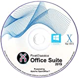 Office Suite 2019 Microsoft Word 2016 2013 2010 2007 365 Compatible Software CD Powered by Apache OpenOfficeTM for PC Windows 10 8.1 8 7 Vista XP 32...