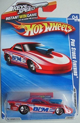 (Mattel HOT Wheels PRO Stock Firebird Performance Series with Instant Win Game Package)