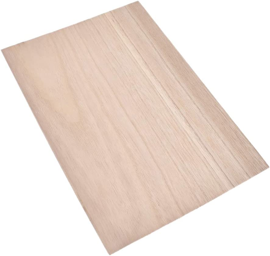 Kesheng 10pcs 300x200mm Balsa Wooden Plate Model DIY Accessoire 1.5mm