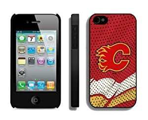 Cheap Case for Apple Iphone 4s NHL Calgary Flames 3 Best Iphone 4 Cover