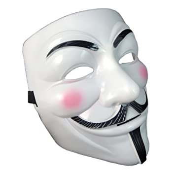 OnceAll V for Vendetta Guy Fawkes Face Mask Fancy Halloween Cosplay